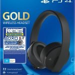 CASCOS GAMING AURICULARES GAMING HEADSET GOLD WIRELESS PS4